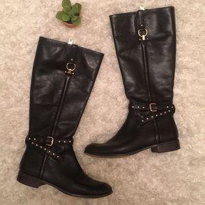 Coach black boots size 7.5